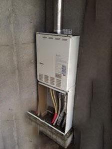 春日井市で給湯器交換 FF式給湯器 パロマ FH-204AWDL