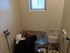 ホールインワン給湯器工事